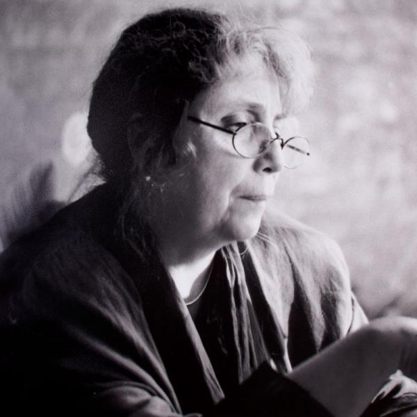 Catharine Nepomnyashchy in London 2002, picture taken by David Goldfarb