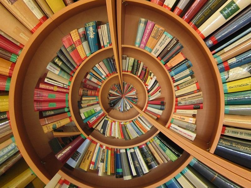 books in spiral